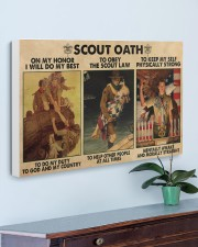 scout oath on my honor pt mttn nna 30x20 Gallery Wrapped Canvas Prints aos-canvas-pgw-30x20-lifestyle-front-01