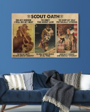 scout oath on my honor pt mttn nna 30x20 Gallery Wrapped Canvas Prints aos-canvas-pgw-30x20-lifestyle-front-06