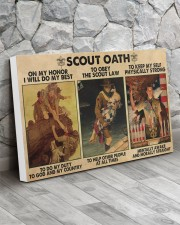 scout oath on my honor pt mttn nna 30x20 Gallery Wrapped Canvas Prints aos-canvas-pgw-30x20-lifestyle-front-13