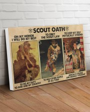 scout oath on my honor pt mttn nna 30x20 Gallery Wrapped Canvas Prints aos-canvas-pgw-30x20-lifestyle-front-14