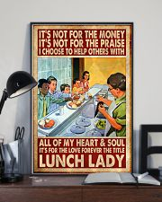 forever title lunch lady poster  11x17 Poster lifestyle-poster-2