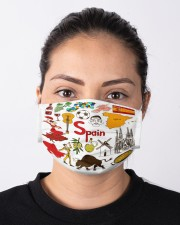 spain map mas  Cloth Face Mask - 3 Pack aos-face-mask-lifestyle-01