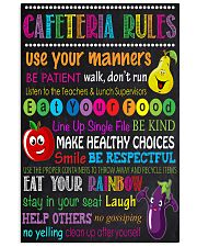 lunch lady cafeteria rule 11x17 Poster front