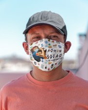 admin squad mas  Cloth Face Mask - 3 Pack aos-face-mask-lifestyle-06