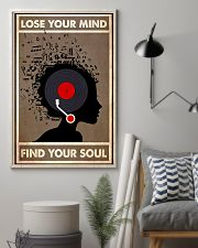 Afro Vinyl Head lose my mind  11x17 Poster lifestyle-poster-1