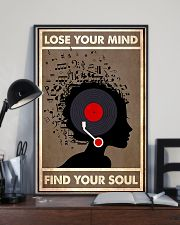 Afro Vinyl Head lose my mind  11x17 Poster lifestyle-poster-2