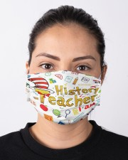 history teacher I am mas Cloth Face Mask - 3 Pack aos-face-mask-lifestyle-01