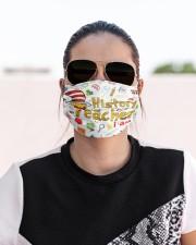 history teacher I am mas Cloth Face Mask - 3 Pack aos-face-mask-lifestyle-02