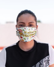 history teacher I am mas Cloth Face Mask - 3 Pack aos-face-mask-lifestyle-03