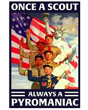 scout pyromaniac 11x17 Poster front
