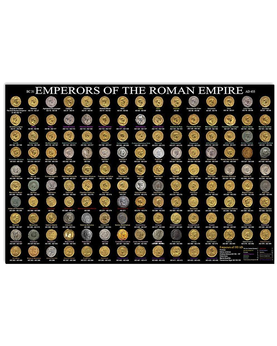 Emperors of roman empire 36x24 Poster