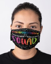 paraprofessional squad mas  Cloth Face Mask - 3 Pack aos-face-mask-lifestyle-01