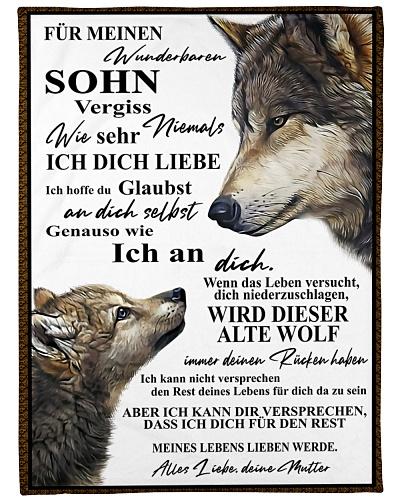 Mom son wolf