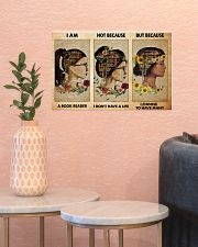book girl i am a reader pt phq-NTH 17x11 Poster poster-landscape-17x11-lifestyle-21