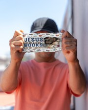 Jesus savior books therapy mas Cloth Face Mask - 3 Pack aos-face-mask-lifestyle-05