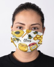 bee clip art mas Cloth Face Mask - 3 Pack aos-face-mask-lifestyle-01