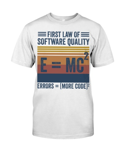 first law of software quality funny programming