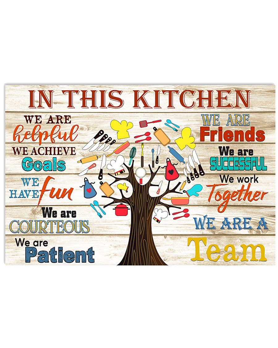lunch lady this kitchen 17x11 Poster