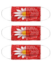 daisy para mas Cloth Face Mask - 3 Pack front