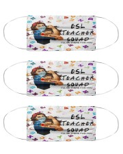 ESL Teacher squad mas Cloth Face Mask - 3 Pack front