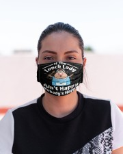 Lunch Lady Aint Happy-Nobodys Happy mas Cloth Face Mask - 3 Pack aos-face-mask-lifestyle-03
