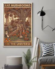 bigfoot mushroom 11x17 Poster lifestyle-poster-1