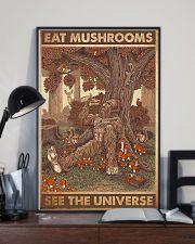 bigfoot mushroom 11x17 Poster lifestyle-poster-2