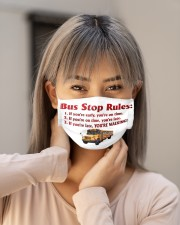 bus driver rules mas Cloth Face Mask - 3 Pack aos-face-mask-lifestyle-18