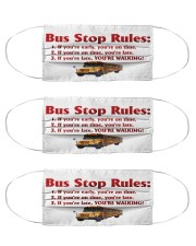 bus driver rules mas Cloth Face Mask - 3 Pack front