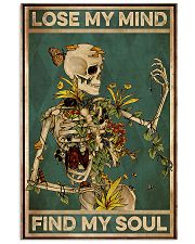 gardening skull Lose My Mind 11x17 Poster front