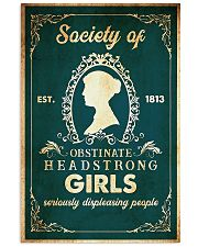 book obstinate headstrong girls  11x17 Poster front