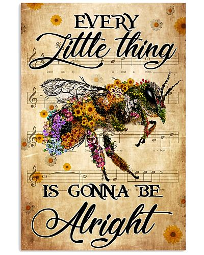 everything alright bee poster