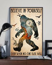 big foot believe in yourself 11x17 Poster lifestyle-poster-2