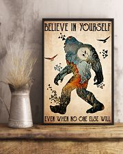 big foot believe in yourself 11x17 Poster lifestyle-poster-3
