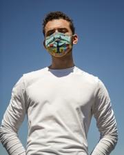 kindergarten groovy mas  Cloth Face Mask - 3 Pack aos-face-mask-lifestyle-11