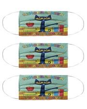 kindergarten groovy mas  Cloth Face Mask - 3 Pack front