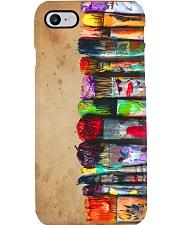 color paint brush pc mttn ngt Phone Case i-phone-8-case
