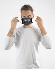 poker typographic mas  Cloth Face Mask - 3 Pack aos-face-mask-lifestyle-08