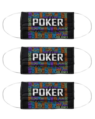 poker typographic mas