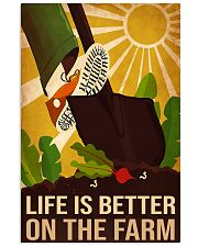farm life is better 11x17 Poster front