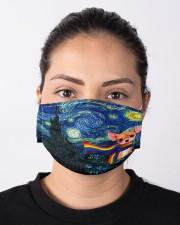 lgbt chihuahua vang mas  Cloth Face Mask - 3 Pack aos-face-mask-lifestyle-01