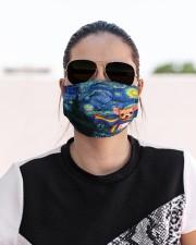lgbt chihuahua vang mas  Cloth Face Mask - 3 Pack aos-face-mask-lifestyle-02