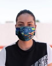 lgbt chihuahua vang mas  Cloth Face Mask - 3 Pack aos-face-mask-lifestyle-03