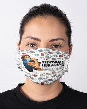 librarian vintage mas  Cloth Face Mask - 3 Pack aos-face-mask-lifestyle-01