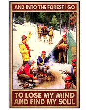 boy scout US forest find my soul poster 11x17 Poster front