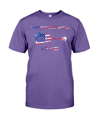 let it be us flag shirt