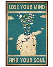 Book lose your mind 11x17 Poster front