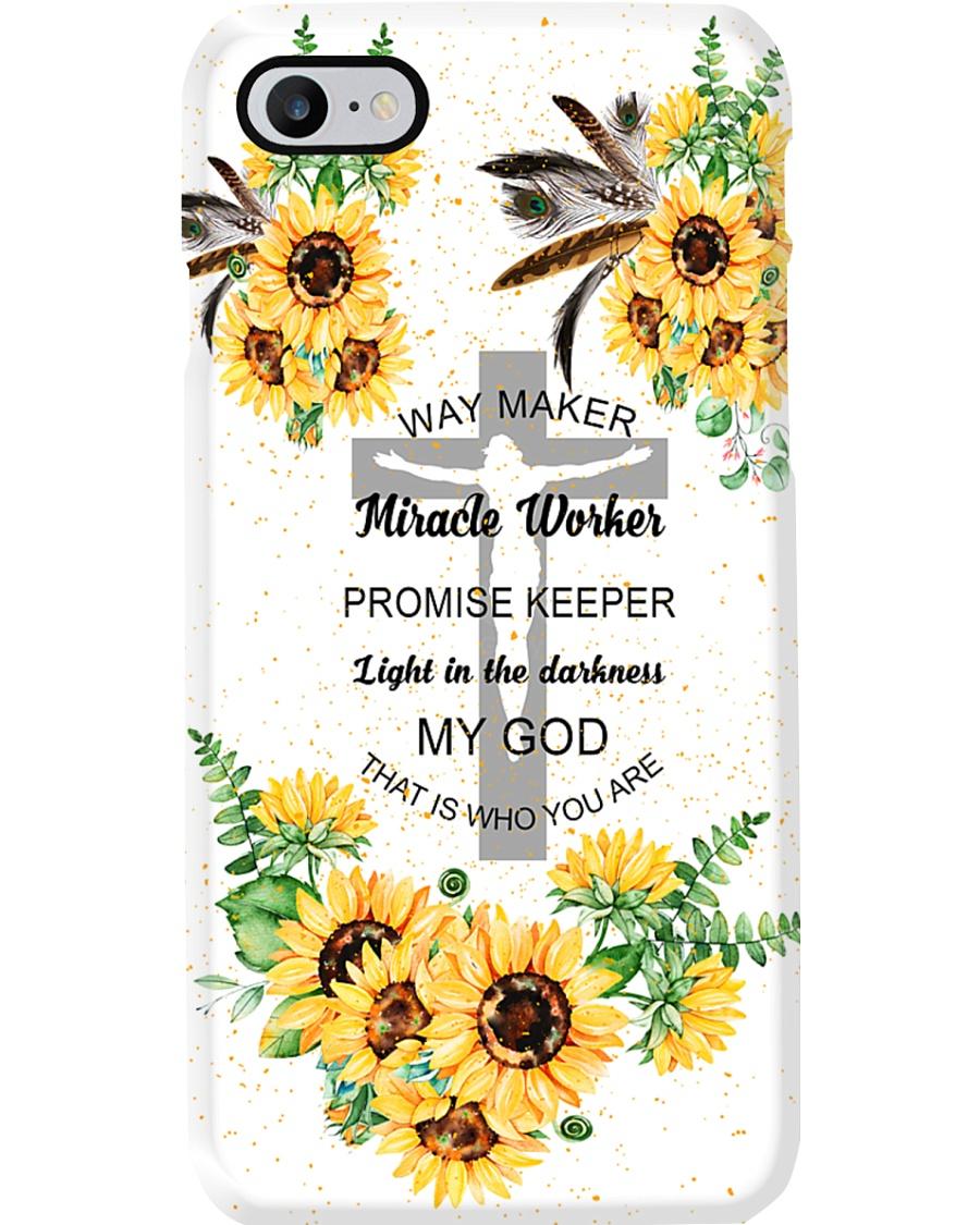 jesus way maker sunflower phonecase Phone Case