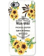 jesus way maker sunflower phonecase Phone Case i-phone-7-case