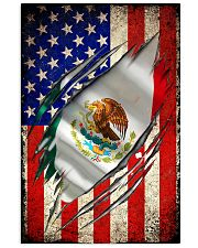 us flag mexican 11x17 Poster front